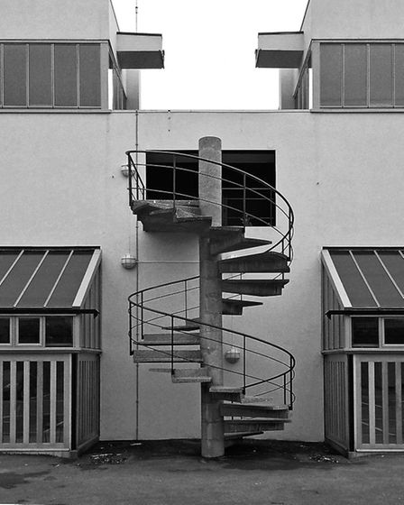 Haggerston School in Weymouth Terrace. Picture: Simon Phipps / Extracted from Brutal London by Simon