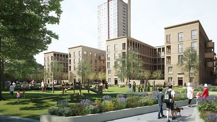 Architects at Karakusevic Carson have designed the new-look Nightingale Estate. Picture: Hackney Cou