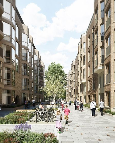 How the Nightingale Estate will look when work is completed. Picture: Hackney Council.