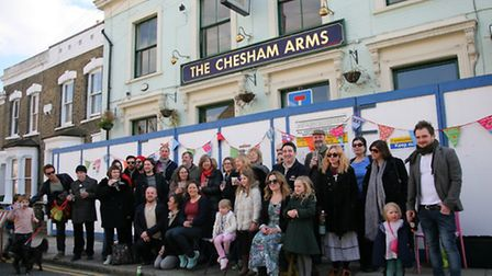 The Save the Chesham Arms campaign group.