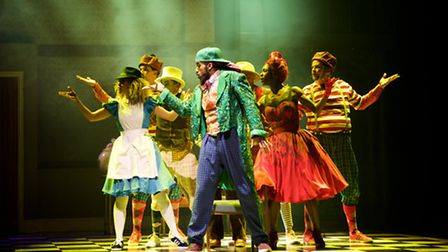 The Mad Hatter's Tea Party at the Roundhouse. Picture: Alice Pennefather
