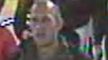The suspect police wish to speak with Picture: BTP