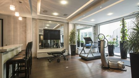 The home gym means you'll never have to break a sweat in public