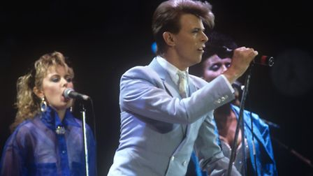 """Mr Marshall-Everitt said the unreleased Bowie recording is """"absolutely outstanding"""" Picture:"""