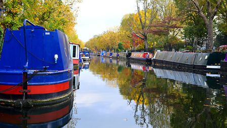 The canal at Little Venice