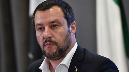 Leader of Italy's far-right Lega Matteo Salvini Photo: ANDREAS SOLARO/AFP/Getty Images.
