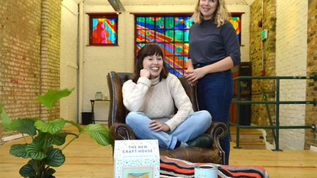 The New Craft House founders Rosie Scott and Hannah Silvani in their new workspace, Wusi, in Broadwa