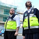 Volunteers from Stamford Hill Shomrim on pro-active patrol in Stamford Hill. Picture: Polly Hancock