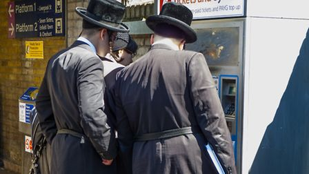 Orthodox Jewish men in Stamford Hill. Picture: Dave Collier/Flickr/Creative Commons (licence CC BY-N