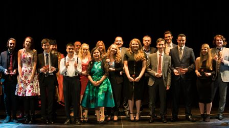 Lowestoft Sixth Form College has held its annual awards ceremony. Picture: Courtesy of Lowestoft Six