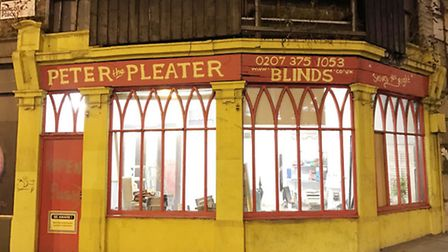 The blinds shop, Peter the Pleater, which is closing down after 34 years