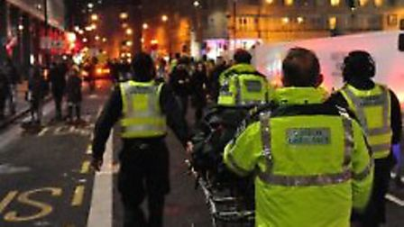 Camden ranked second in the list of booze-fuelled calls last December.