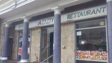 The Aziziye restaurant was damaged in the fire (Photo: @LondonFire)