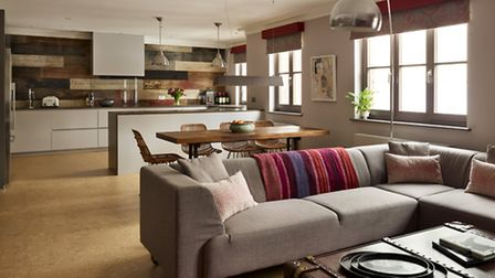 Despite the location the family found their new Highgate home lacked heart - so they drafted in Enso