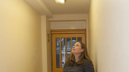 Victoria Richards pictured in Lea View House. Picture: Nigel Sutton