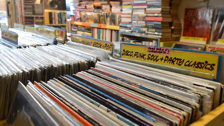 You won't find any new records among the genre-spanning stock. Picture: Polly Hancock