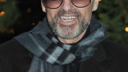 George Michael, photographed outside his Highgate home. Photo: PA Wire/Press Association Images