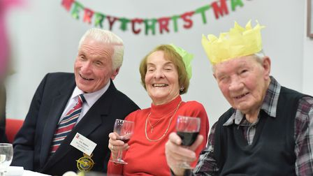 Every year the charity invites beneficiaries who would otherwise be alone at Christmas to spend the