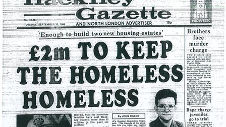 Hackney Gazette, September 30, 1986