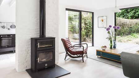 A home extension on Pages Lane by Kirkwood McCarthy was Highly Commended by the jury