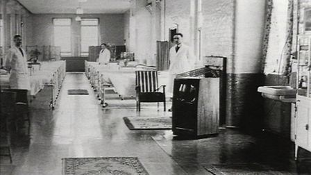 A male ward at St Lawrence's