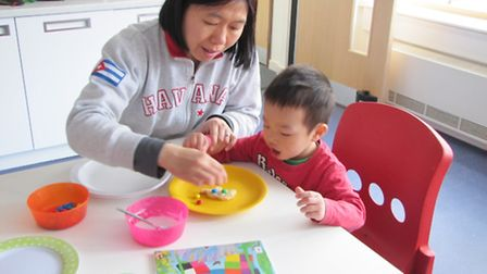 Parents and their children enjoy many different services at the Highgate Family Centre