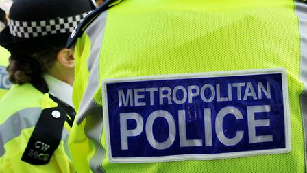 A file image of Met Police officers. Picture: Nick Ansell/PA Archive