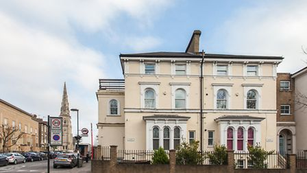 This two-bedroom flat on the second floor of a period house in Archway has been recently renovated b