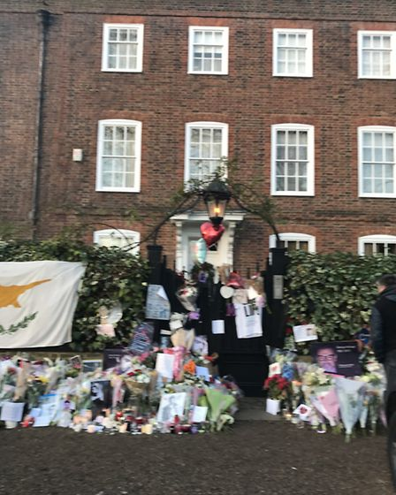 The heartfelt tributes outside George Michael's home continue to grow, almost a month after his shoc