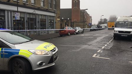 Ravensdale Road has been closed by police. Picture: @999London