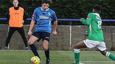 Spencer McCall has returned to Wingate & Finchley after a spell at Hendon. Picture: Martin Addison