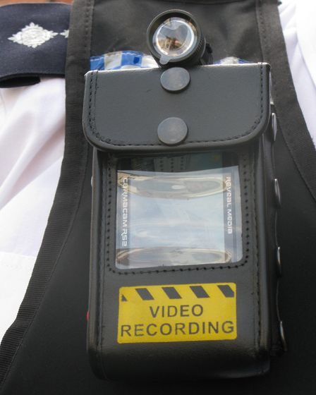 Stock image of body worn camera. Picture: ARCHANT LIBRARY