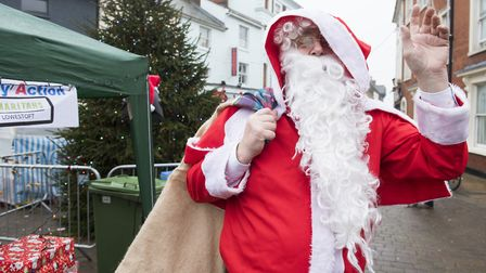 Lowestoft Triangle Christmas Market.Picture: Nick Butcher