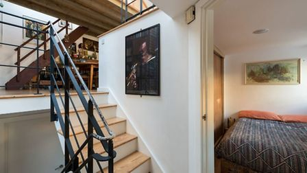 The house boasts an inventive split-level layout over five storeys
