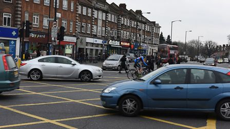 The junction of Clapton Common and Stamford Hill.