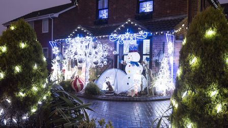 Carlton Colville is the region's most Christmas-obsessed place. Picture: Nick Butcher