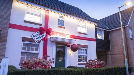 Carlton Colville is the region's most Christmas obsessed place.Picture: Nick Butcher
