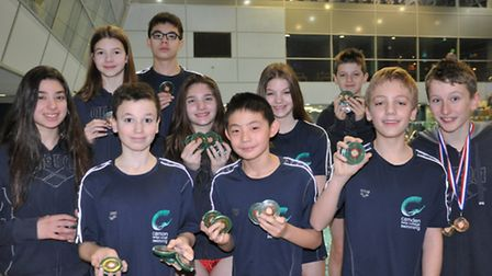 Camden Swiss Cottage's individual medallists