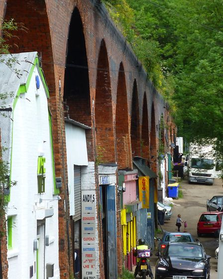 The council's commercial property portfolio, including Muswell Hill's railway arches off St James La