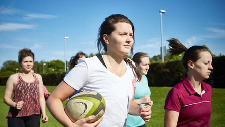 The nationwide Inner Warrior campaign run by England rugby has been a hot with Hackney RFC ladies