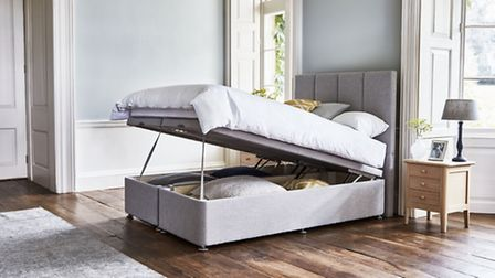 The Braydon Storage Bed With Oxenwood Ottoman Bed Base, currently reduced to start from £818, availa