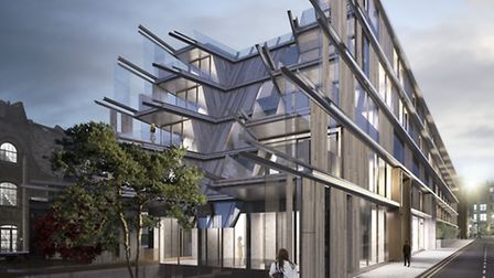 Nobu Hotel Shoreditch will open this spring. Picture: Ben Adams Architects.