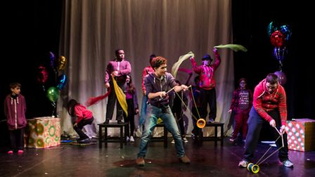 Circus Book of Tricks will be performed at Jacksons Lane