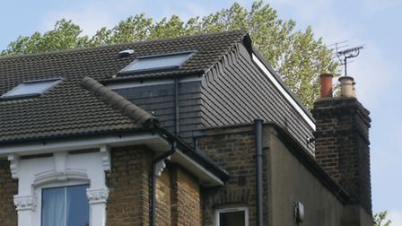 The roof was left as it was despite being given an enforcement notice. Picture: Hackney Council