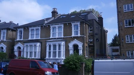 The roof extension earned the landlord a �40,000 court fine. Picture: Hackney Council