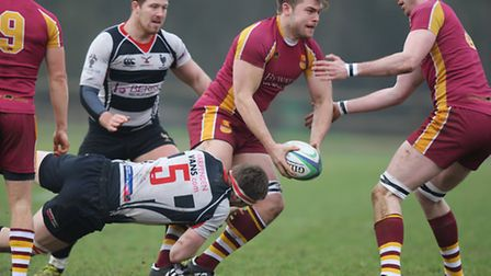 Rob Sykes in action for Hampstead. Picture: KARYN HADDON