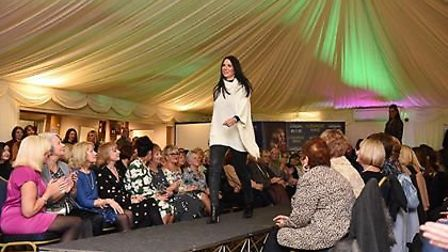 A fashion show was held at Ivy House hotel in Oulton Broad to rasie money for Beccles Breast Cancer