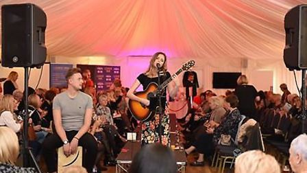 There was music provided by talented singer-songwriter Jazmine Honey Banks. Picture: Sam Markwell