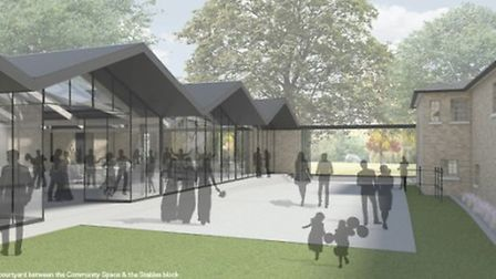 An artist's impression of the proposals for Springfield Park
