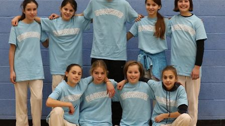 Haringey's girls are competing at the London Youth Games indoor cricket finals at Lord's (pic LYG)